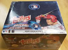 Picture of 2018 Topps Baseball Series 1 Retail Box