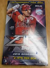 Picture of 2019  Topps Fire Hobby Box